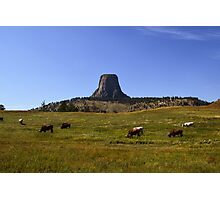 Devils Tower, Wyoming Photographic Print