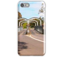 On route to Redesdale 2-arch bridge along the Mia Mia - Redesdale Road VIC Australia iPhone Case/Skin