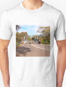 On route to Redesdale 2-arch bridge along the Mia Mia - Redesdale Road VIC Australia Unisex T-Shirt