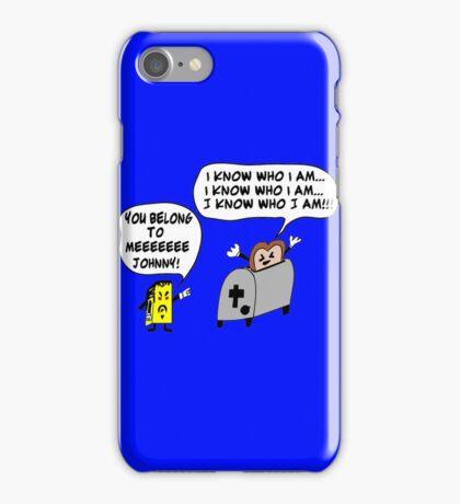 Funny Cartoon- Angel Heart iPhone Case/Skin