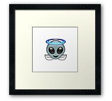 Alien Angel {FULL} Framed Print