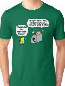 Funny Cartoon- Angel Heart Unisex T-Shirt
