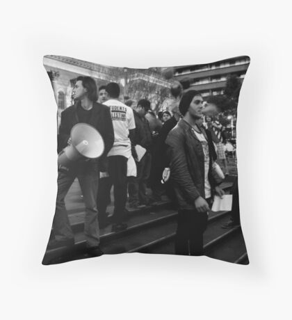 Palestinian Demonstration Melbourne Throw Pillow