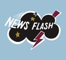 Muppet News Flash - Logo Design  One Piece - Short Sleeve