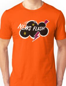 Muppet News Flash - Logo Design  Unisex T-Shirt