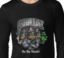 Grillaz (In Da Hood) Hip Hop Gangsta Gorillas Long Sleeve T-Shirt
