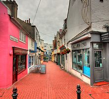 Market Street in Brighton Lanes by zumi