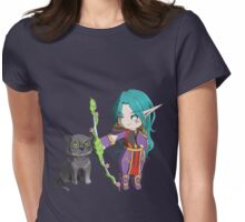 Chibi Hunter Womens Fitted T-Shirt