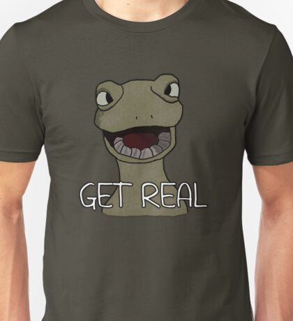 Drinking Out of Cups- Get Real Unisex T-Shirt
