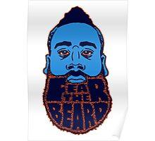 Fear the beard! Poster