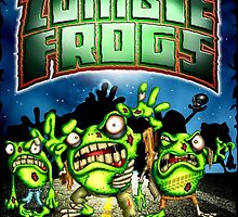 Zombie Frogs  by LinkArtworks