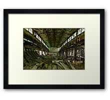 Abandoned Milwaukee Framed Print