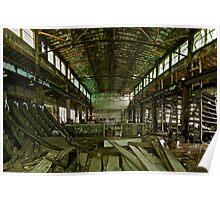 Abandoned Milwaukee Poster