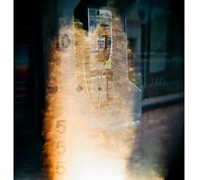The Phone is on Fire Photographic Print