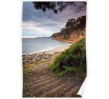 Boronia Beach, Kingston, Tasmania Poster