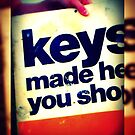 """Keys Made While You Shop"" by Kimberly Darby"