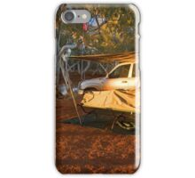 Camping at North Pool, Canning Stock Route, WA iPhone Case/Skin