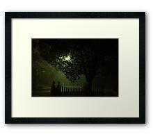 Midnight streetscape Framed Print