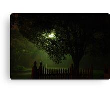 Midnight streetscape Canvas Print