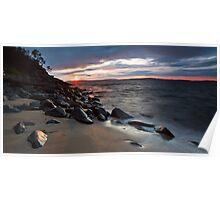 Boronia Beach Sunrise #8 Poster