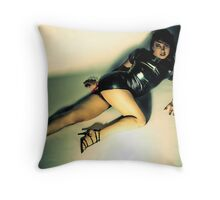 She Suits Me Throw Pillow