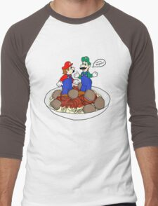 Lotsa Spaghetti! Men's Baseball ¾ T-Shirt