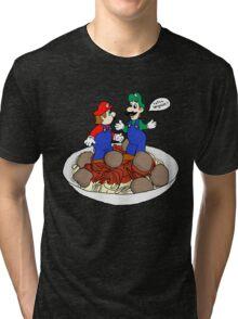 Lotsa Spaghetti! Tri-blend T-Shirt