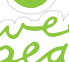 sweet pea 1.0 Sticker
