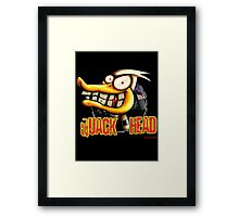 Quack Head Duck Framed Print