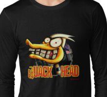 Quack Head Duck Long Sleeve T-Shirt