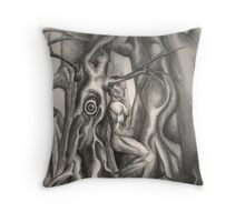 The Eye of Frith Throw Pillow