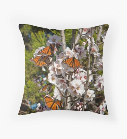 Tree Full of Happiness Throw Pillow
