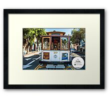 San Fran Trolley Framed Print