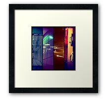 city scenes Framed Print