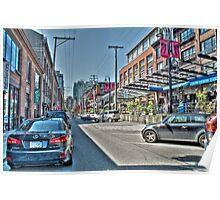 Yaletown Street (HDRI) Poster