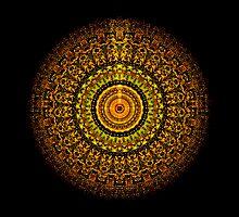 Martian Mandala by Richard H. Jones