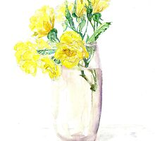 Yellow Roses by FionaLou