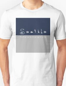Cloudy Seattle Washington T-Shirt