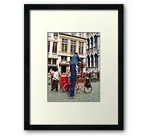 Tallest Postman Framed Print