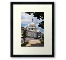 Capitol Hill Framed Print