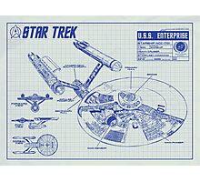 Star Trek U.S.S. Enterprise Photographic Print
