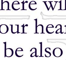 Treasure Heart Sticker
