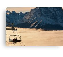 Coming in out of the Cloud Canvas Print