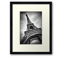 "Eiffel Tower ""dynamic"" Framed Print"