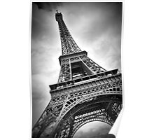 "Eiffel Tower ""dynamic"" Poster"