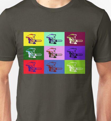 Legend of Zelda: A Link to the Warhol Unisex T-Shirt
