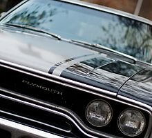 Muscle cars - Plymouth GTX by Norman Repacholi