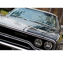 Muscle cars - Plymouth GTX Photographic Print