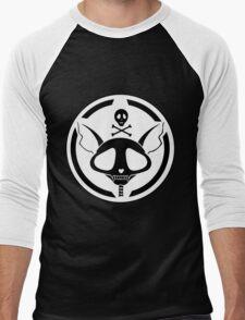 Cat Skeleton Men's Baseball ¾ T-Shirt