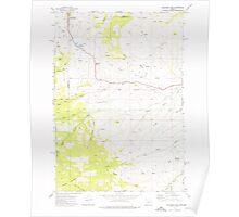 USGS Topo Map Oregon Eldorado Pass 279774 1972 24000 Poster